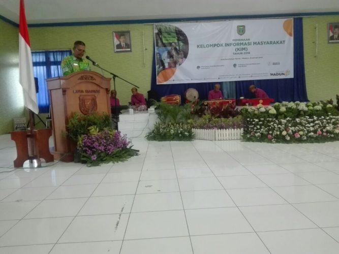 Pembinaan Kelompok Informasi Masyarakat ( KIM ) Kota Madiun